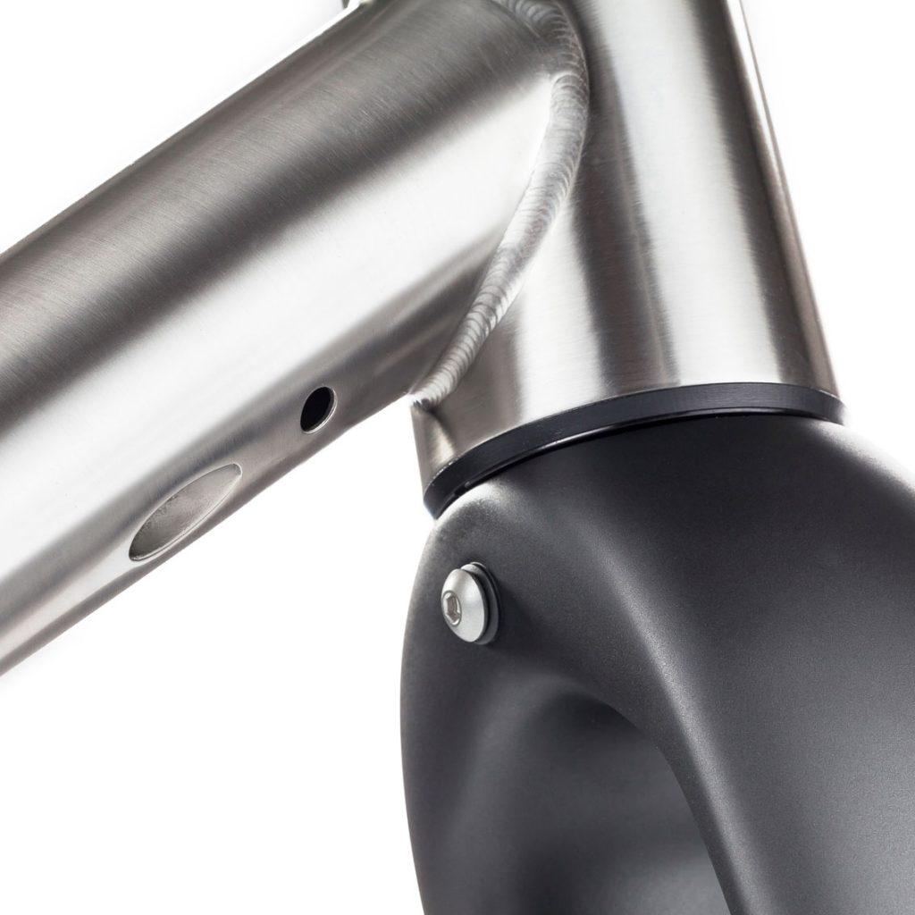 J ACK Titanium Frameset - J Laverack Bicycles